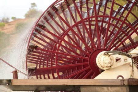 Paddle Wheel on the Murray Princess