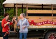 Friends enjoy winery tour, Murray Princess