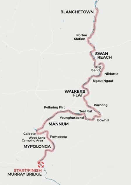 PM 5 Night Cruise Map